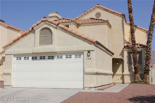 594 Searchlight Drive, Las Vegas, NV 89110 (MLS #2331105) :: Lindstrom Radcliffe Group