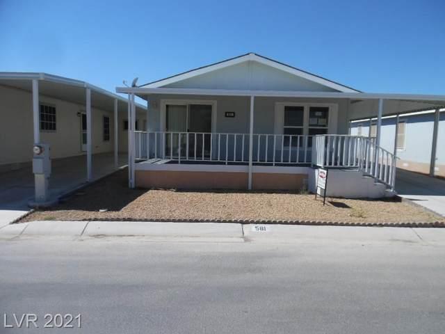 581 Montecito Drive, Pahrump, NV 89048 (MLS #2331239) :: Jack Greenberg Group