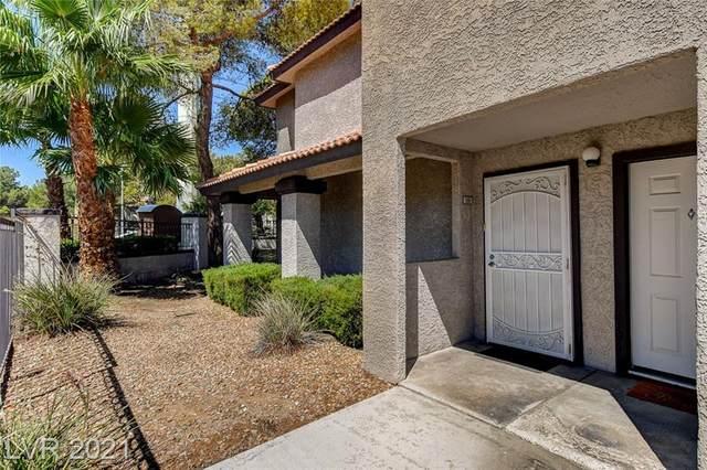 2606 S Durango Drive #190, Las Vegas, NV 89117 (MLS #2331601) :: Custom Fit Real Estate Group