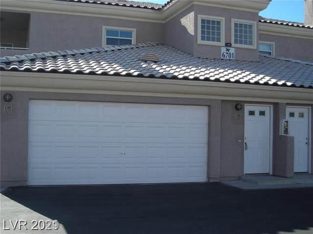 6701 Cobre Azul Avenue #201, Las Vegas, NV 89108 (MLS #2331699) :: Hebert Group | eXp Realty