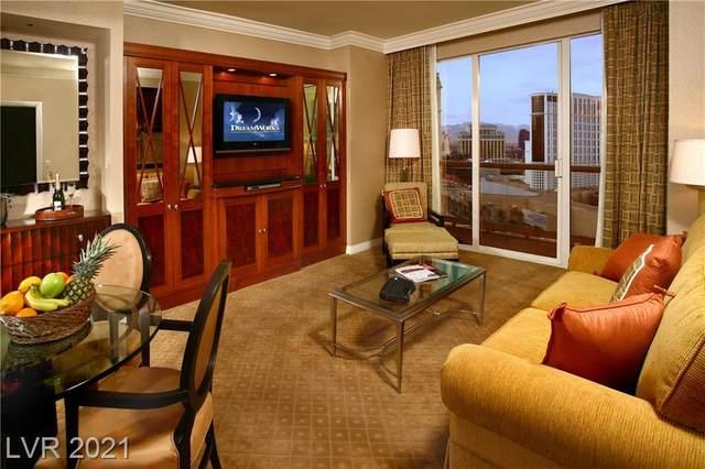 135 E Harmon Avenue #2602, Las Vegas, NV 89109 (MLS #2331775) :: The TR Team