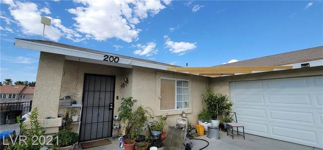 200 Chevron Street, Pahrump, NV 89048 (MLS #2331892) :: Signature Real Estate Group
