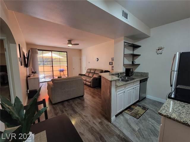 5146 S Jones Boulevard #106, Las Vegas, NV 89118 (MLS #2331903) :: The Melvin Team