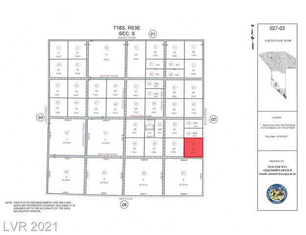 60 W Anchor Road, Pahrump, NV 89060 (MLS #2332010) :: Lindstrom Radcliffe Group