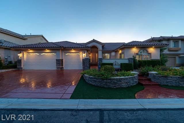 10643 Lago Cantini Street, Las Vegas, NV 89141 (MLS #2332033) :: The Melvin Team