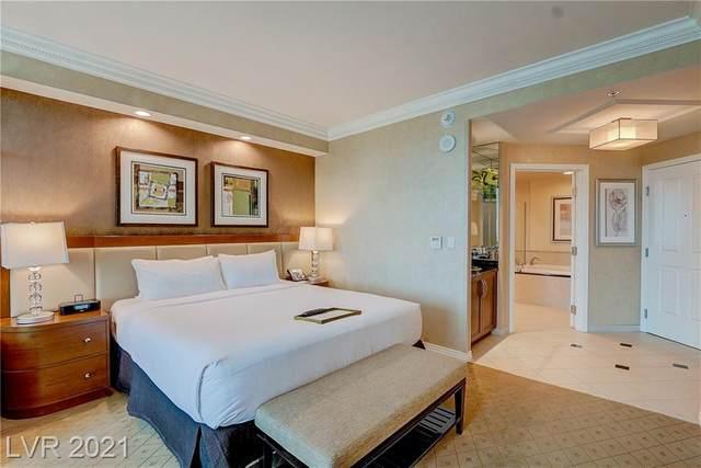 145 E Harmon Avenue #1706, Las Vegas, NV 89109 (MLS #2332059) :: The Melvin Team