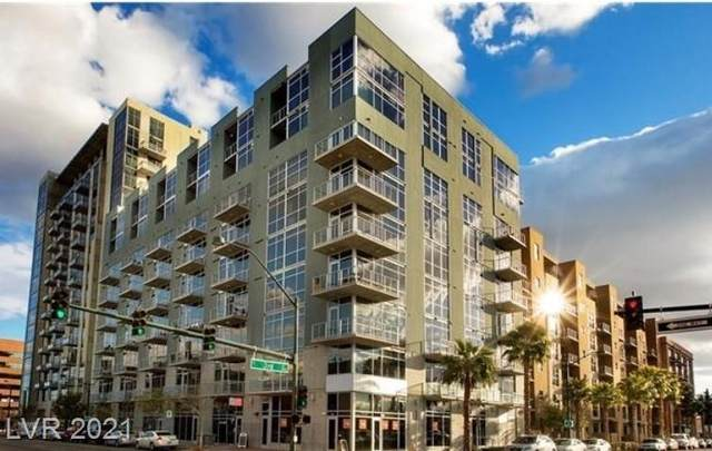353 E Bonneville Avenue #814, Las Vegas, NV 89101 (MLS #2332103) :: Coldwell Banker Premier Realty