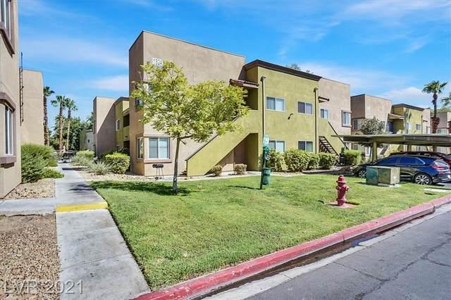 1824 N Decatur Boulevard #103, Las Vegas, NV 89108 (MLS #2332121) :: Signature Real Estate Group