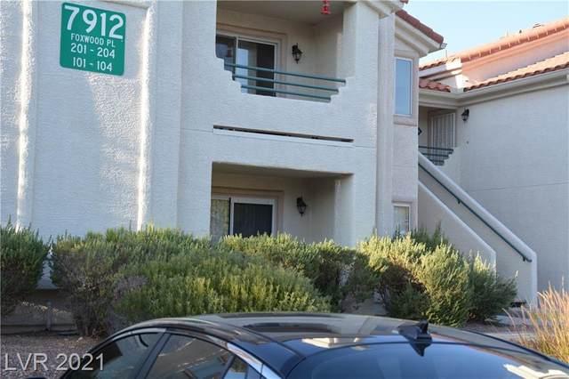 7912 Foxwood Place #203, Las Vegas, NV 89145 (MLS #2332122) :: Jeffrey Sabel