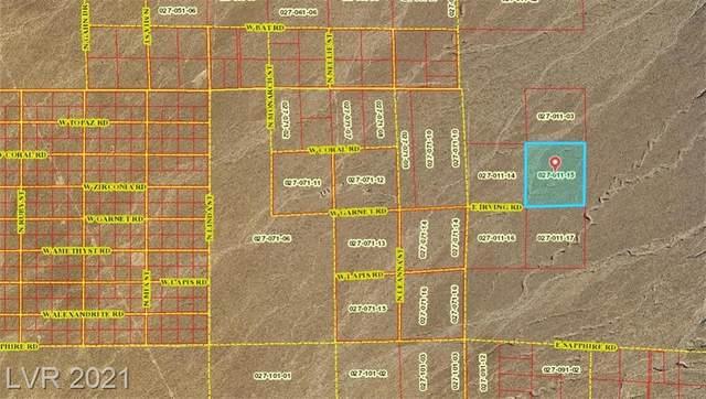 370 E Irving Road, Pahrump, NV 89060 (MLS #2332406) :: Jack Greenberg Group