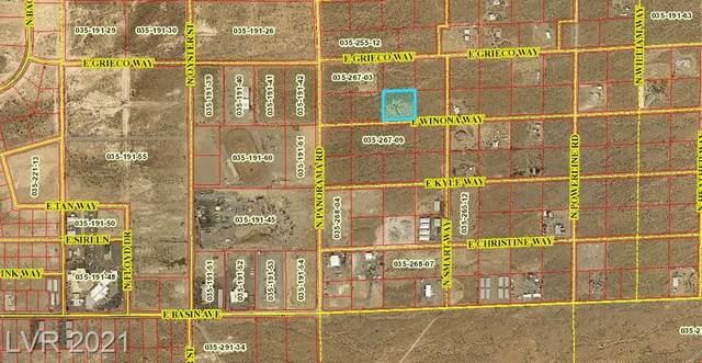 2150 E Winona Way, Pahrump, NV 89060 (MLS #2332411) :: Coldwell Banker Premier Realty