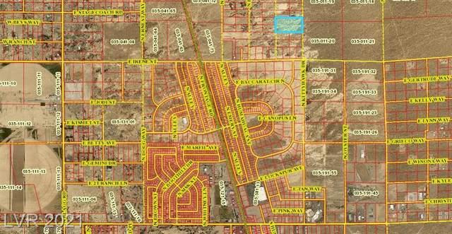 1240 N Kittyhawk Drive, Pahrump, NV 89060 (MLS #2332425) :: Keller Williams Realty