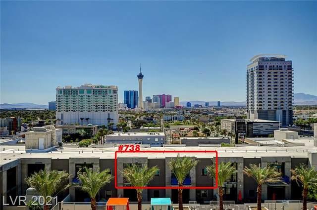353 E Bonneville Avenue #738, Las Vegas, NV 89101 (MLS #2332582) :: Coldwell Banker Premier Realty