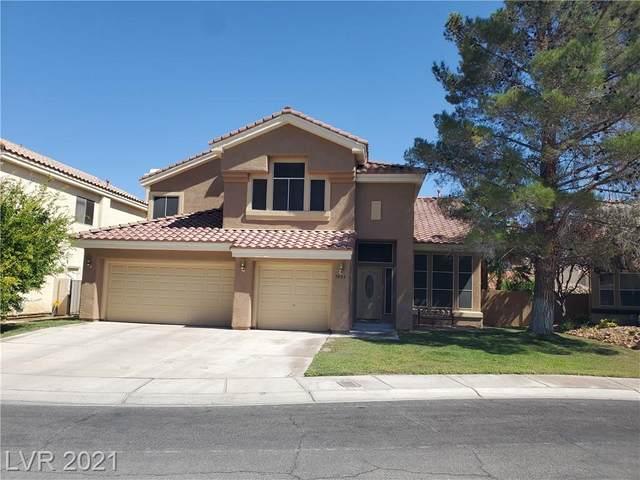 8804 Stafford Springs Drive, Las Vegas, NV 89134 (MLS #2332602) :: The Perna Group
