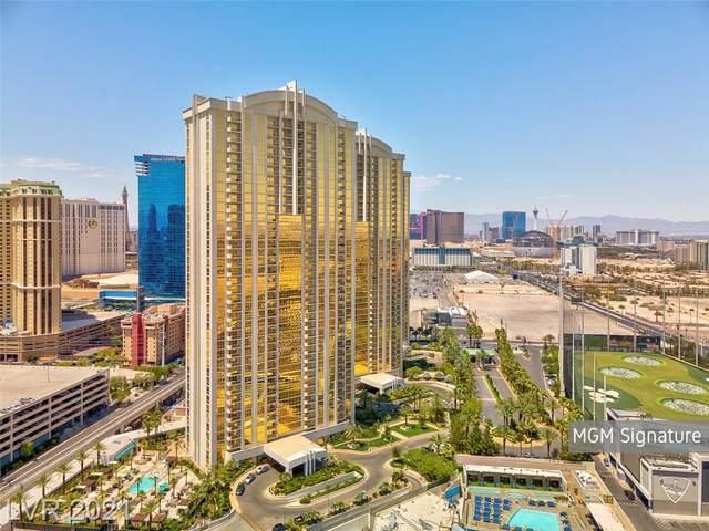 145 E Harmon Avenue #2806, Las Vegas, NV 89109 (MLS #2332624) :: Hebert Group | eXp Realty