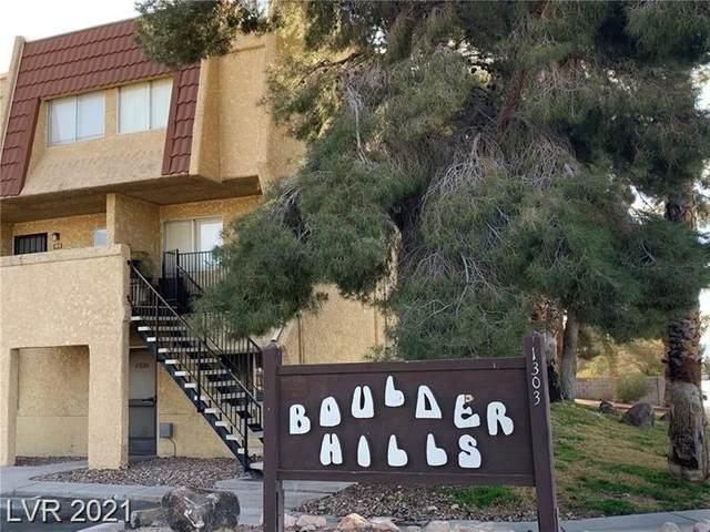 1303 Darlene Way 304B, Boulder City, NV 89005 (MLS #2332666) :: Lindstrom Radcliffe Group