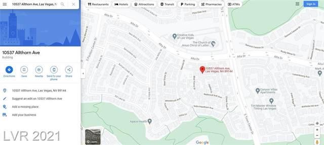 10537 Allthorn Avenue, Las Vegas, NV 89144 (MLS #2332968) :: Kypreos Team