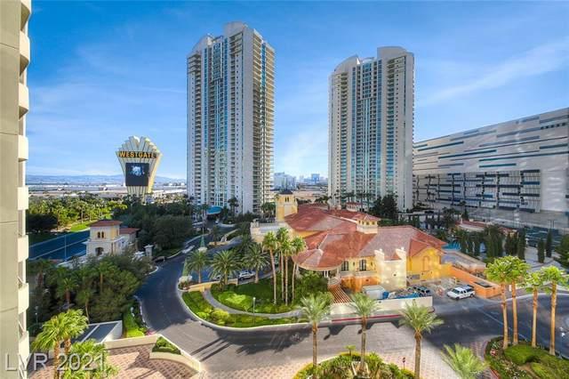 2877 Paradise Road #703, Las Vegas, NV 89109 (MLS #2333078) :: Coldwell Banker Premier Realty
