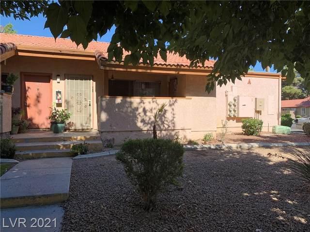 1515 E Reno Avenue A108, Las Vegas, NV 89119 (MLS #2333154) :: Jeffrey Sabel