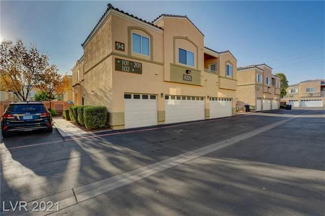 6325 Blowing Sky Street #101, North Las Vegas, NV 89081 (MLS #2333184) :: Signature Real Estate Group