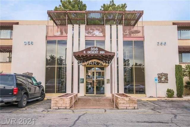 356 E Desert Inn Road #105, Las Vegas, NV 89109 (MLS #2333243) :: Vestuto Realty Group