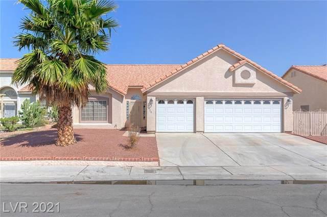 4320 Erica Drive, North Las Vegas, NV 89032 (MLS #2333266) :: Jack Greenberg Group