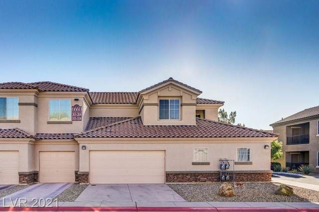 6660 Flaminian Lane #204, North Las Vegas, NV 89084 (MLS #2333278) :: Hebert Group   eXp Realty