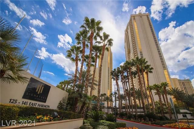 135 E Harmon Avenue #620, Las Vegas, NV 89109 (MLS #2333300) :: Jeffrey Sabel