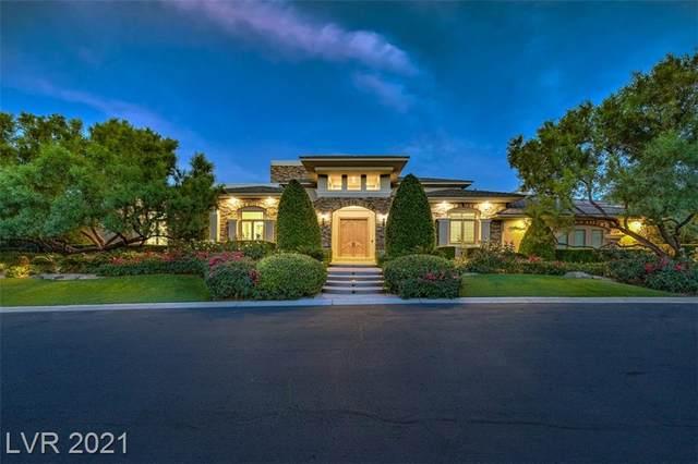 25 Promontory Ridge Drive, Las Vegas, NV 89135 (MLS #2333319) :: Hebert Group | eXp Realty