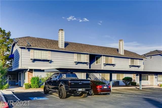 5870 Medallion Drive #202, Las Vegas, NV 89122 (MLS #2333427) :: Coldwell Banker Premier Realty
