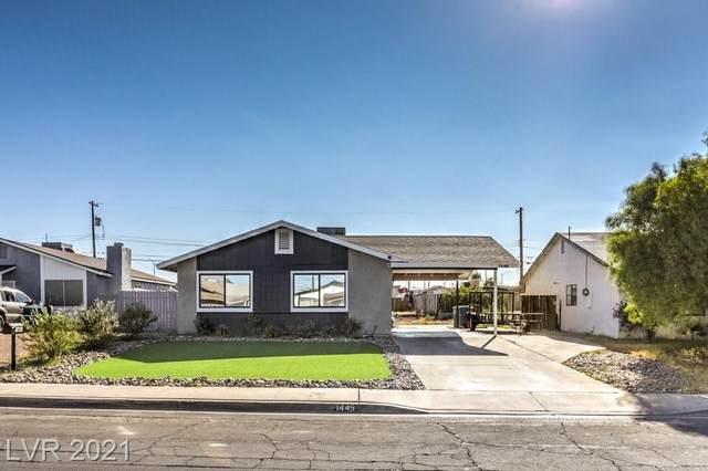 1445 Chestnut Street, Henderson, NV 89011 (MLS #2333464) :: Lindstrom Radcliffe Group