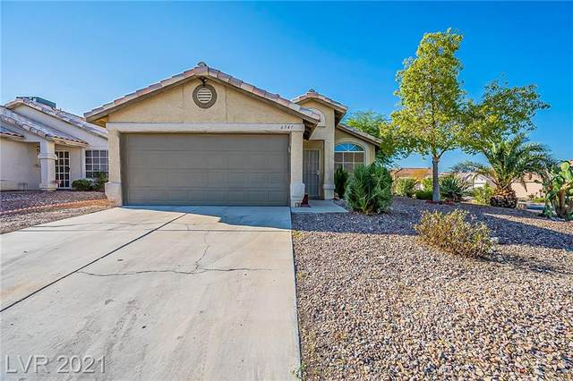 6341 Gold Canyon Drive, Las Vegas, NV 89156 (MLS #2333627) :: Lindstrom Radcliffe Group