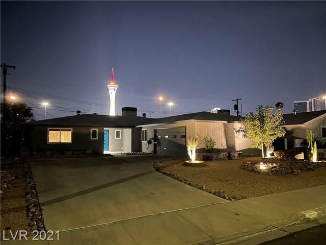 1709 Ivanhoe Way, Las Vegas, NV 89102 (MLS #2333667) :: Signature Real Estate Group