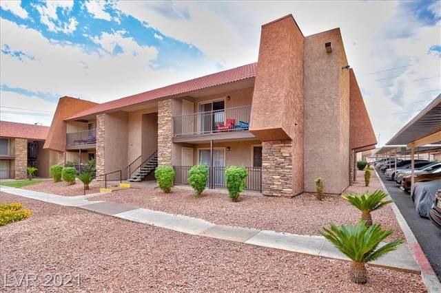 4460 Sandy River Drive #52, Las Vegas, NV 89103 (MLS #2333973) :: The Melvin Team