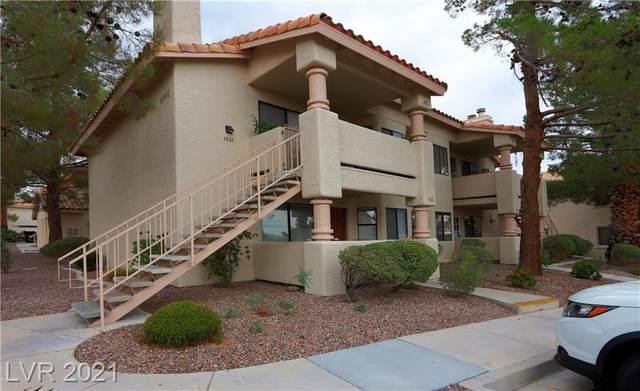 1001 Sulphur Springs Lane #102, Las Vegas, NV 89128 (MLS #2334027) :: Hebert Group | eXp Realty