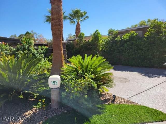 8175 Arville Street #192, Las Vegas, NV 89139 (MLS #2334047) :: Kypreos Team