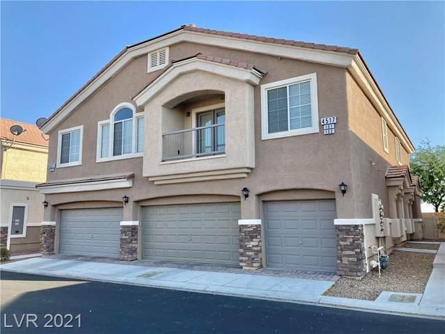 4517 Bell Cord Avenue #101, North Las Vegas, NV 89031 (MLS #2334063) :: Hebert Group   eXp Realty
