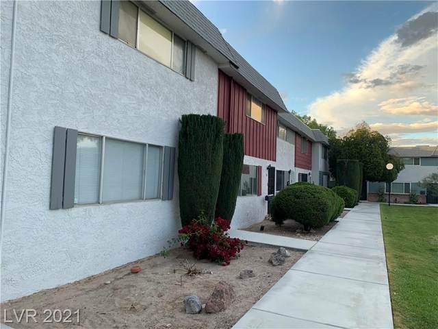 346 Greenbriar Townhouse Way, Las Vegas, NV 89121 (MLS #2334123) :: Coldwell Banker Premier Realty