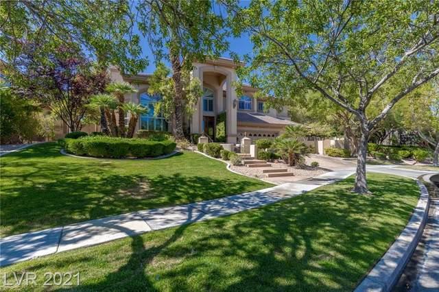 813 Canyon Greens Drive, Las Vegas, NV 89144 (MLS #2334161) :: Jeffrey Sabel
