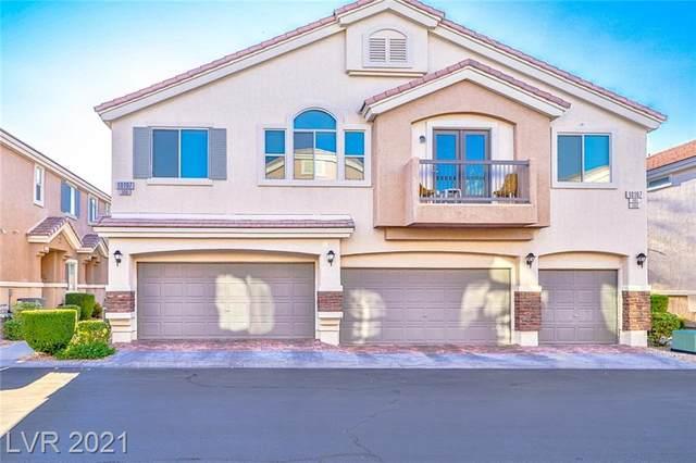 10107 Sunset Palisades Way #103, Las Vegas, NV 89183 (MLS #2334240) :: Signature Real Estate Group