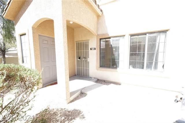 2121 Hussium Hills Street #105, Las Vegas, NV 89108 (MLS #2334325) :: Keller Williams Realty