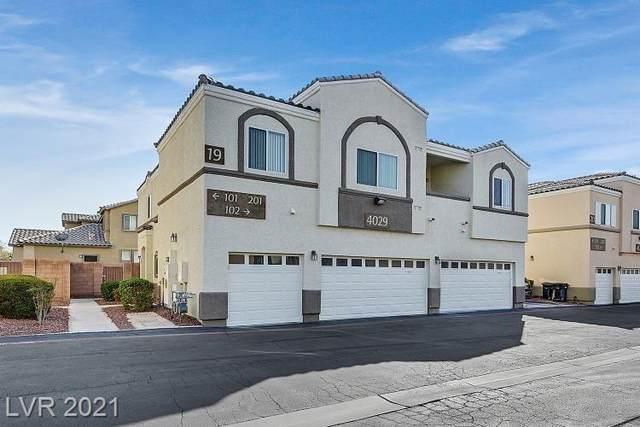 4029 Pepper Thorn Avenue #201, North Las Vegas, NV 89081 (MLS #2334672) :: Coldwell Banker Premier Realty