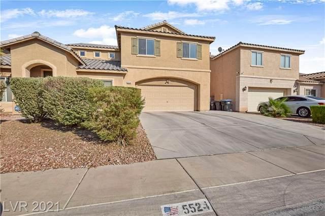 5524 Amy Lynn Street, North Las Vegas, NV 89031 (MLS #2334704) :: Lindstrom Radcliffe Group