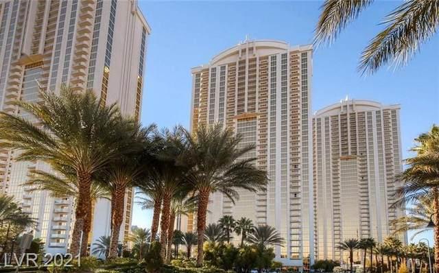 145 E Harmon Avenue #2102, Las Vegas, NV 89109 (MLS #2334824) :: Jack Greenberg Group