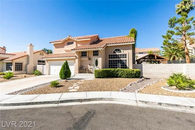 5851 Black Horse Circle, North Las Vegas, NV 89031 (MLS #2334989) :: Lindstrom Radcliffe Group