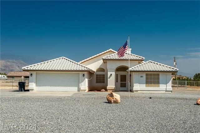 3821 Parkridge Avenue, Pahrump, NV 89048 (MLS #2335161) :: Custom Fit Real Estate Group