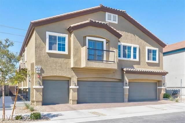 7415 Snowy Owl Street #101, North Las Vegas, NV 89084 (MLS #2335231) :: The Chris Binney Group | eXp Realty