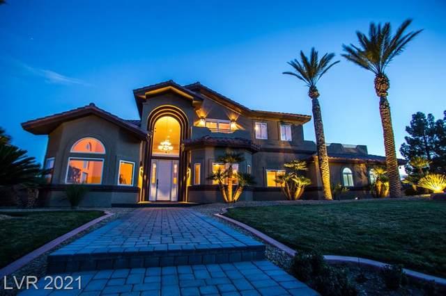 8385 Warbonnet Way, Las Vegas, NV 89113 (MLS #2335375) :: Lindstrom Radcliffe Group
