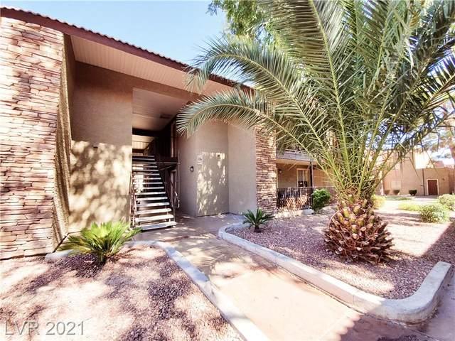 4990 River Glen Drive #168, Las Vegas, NV 89103 (MLS #2335419) :: Keller Williams Realty