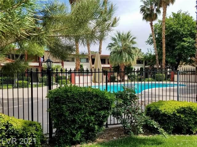 350 E Desert Inn Road E205, Las Vegas, NV 89109 (MLS #2335471) :: The Perna Group